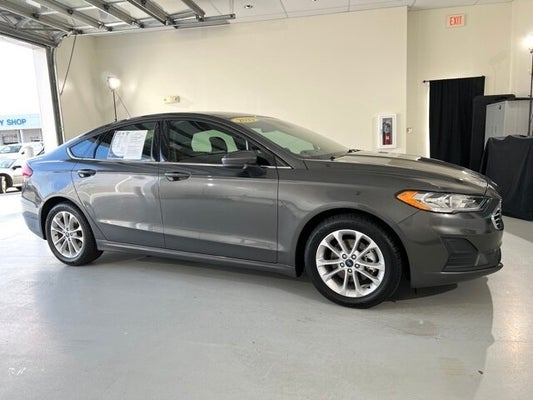 Cloninger Ford Salisbury >> 2019 Ford Fusion Se